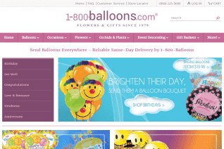 1 800 Balloons reviews and complaints