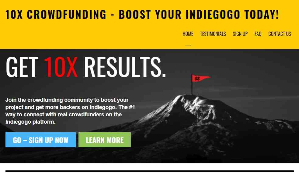10x Crowdfunding reviews and complaints