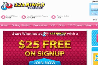 123 Bingo Online reviews and complaints
