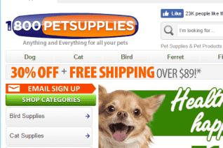 1800PetSupplies reviews and complaints