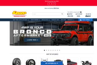 4 Wheel Parts reviews and complaints