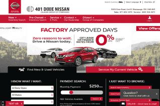 401 Dixie Nissan reviews and complaints
