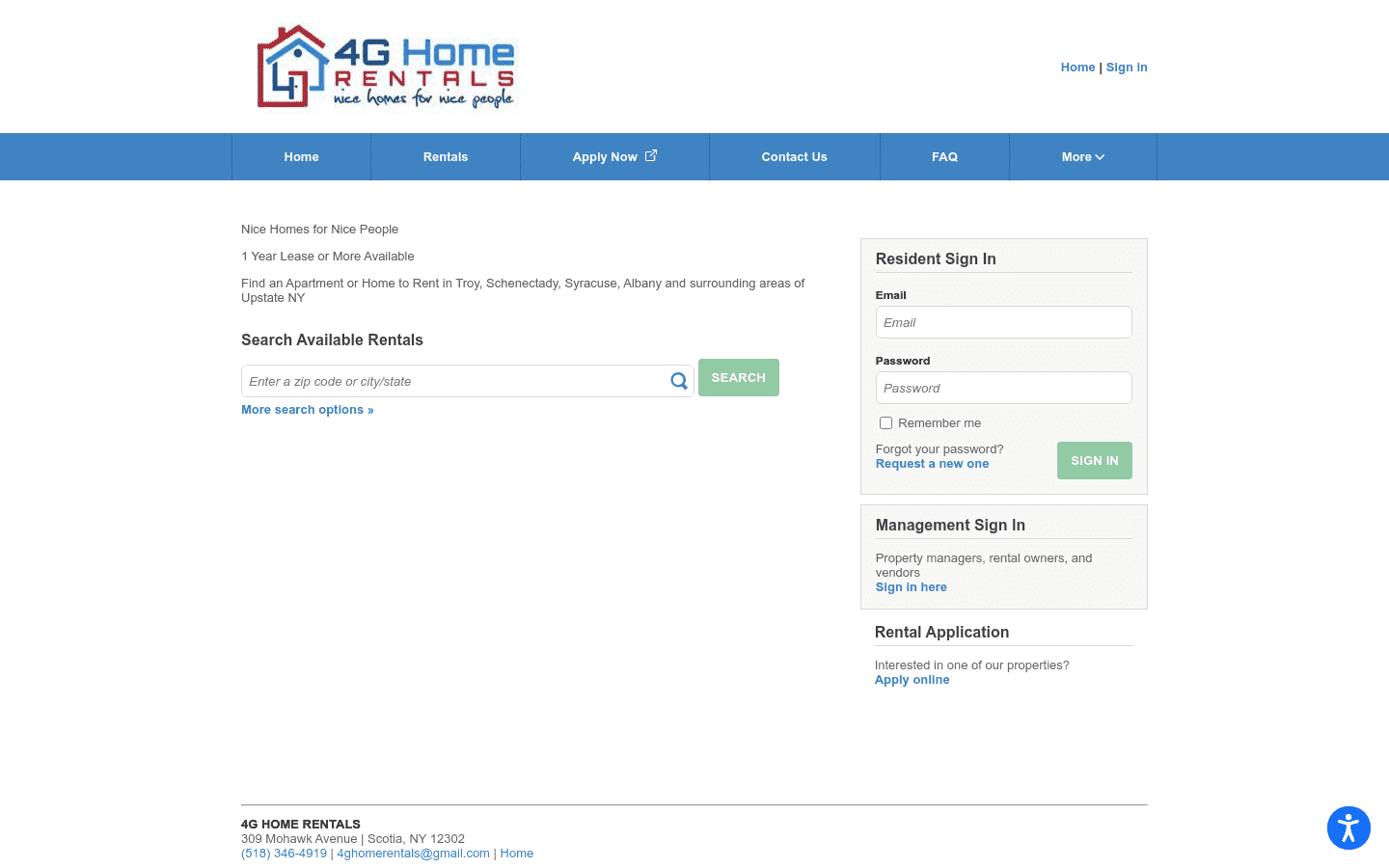 4G Home Rentals reviews and complaints