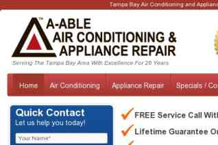 A Able Air Conditioning reviews and complaints