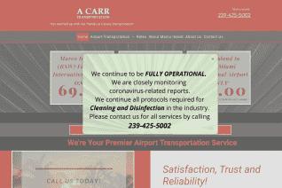 A Carr Transportation reviews and complaints