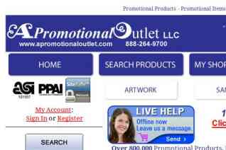 A Promotional Outlet reviews and complaints