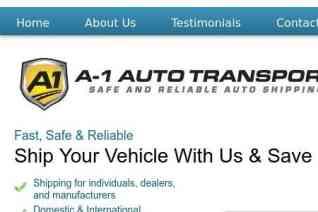 A1 Auto Transport reviews and complaints