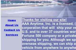 Aaa Anytime Auto Transport reviews and complaints
