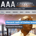 AAA Custom Windows And Custom Security Doors reviews and complaints