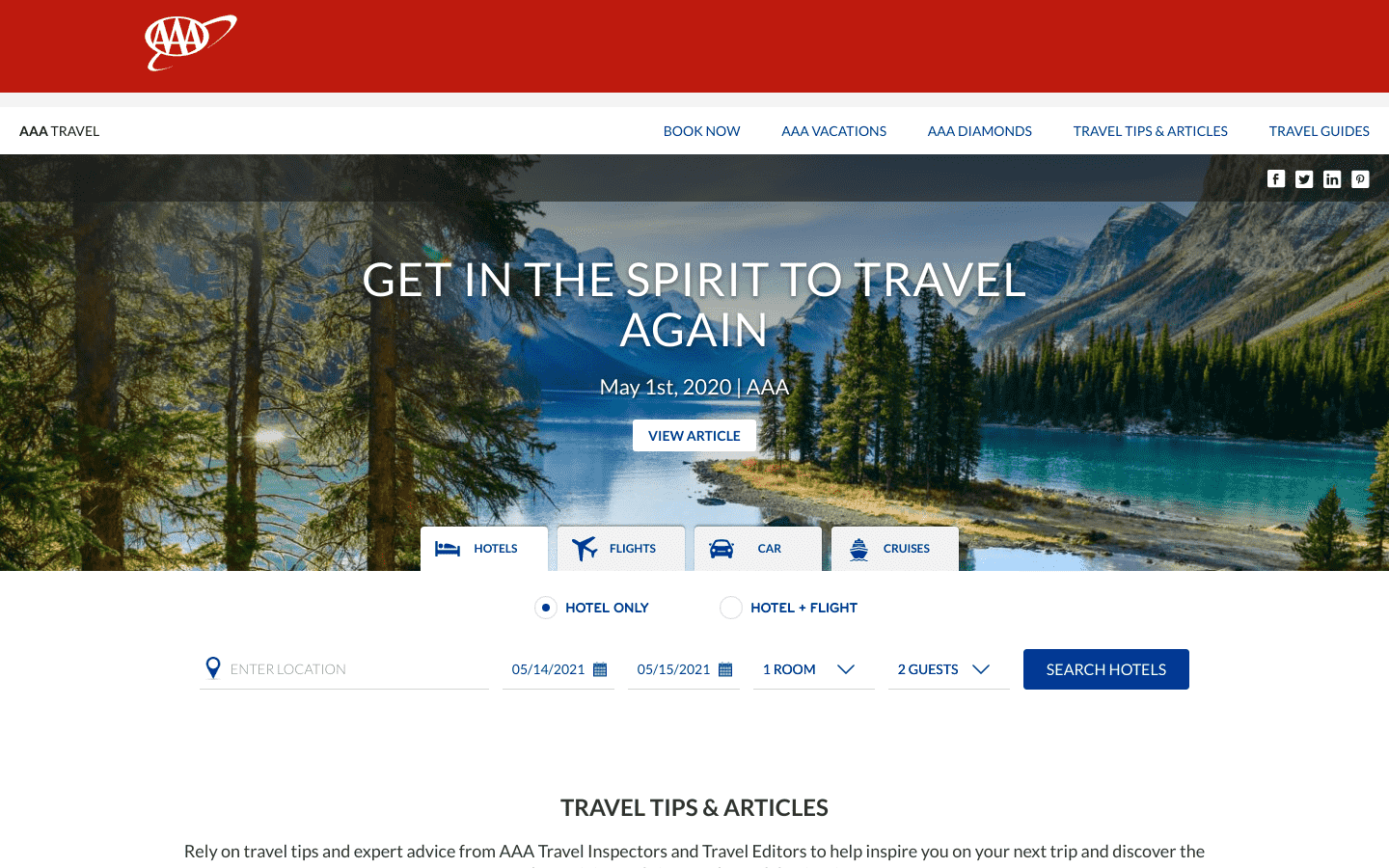 AAA Travel reviews and complaints