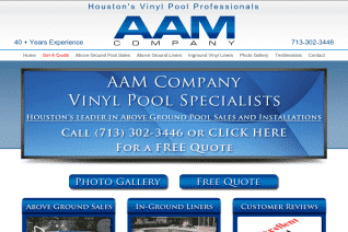 AAM Pool Company reviews and complaints