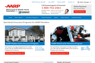 AARP Motorcycle And Mobile Home Insurance From Foremost Insurance Group reviews and complaints