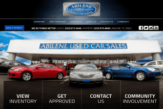 Abilene Used Car Sales reviews and complaints