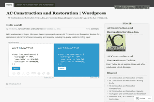 Ac Construction And Restoration reviews and complaints