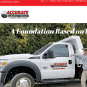 Accurate Basement Repair reviews and complaints