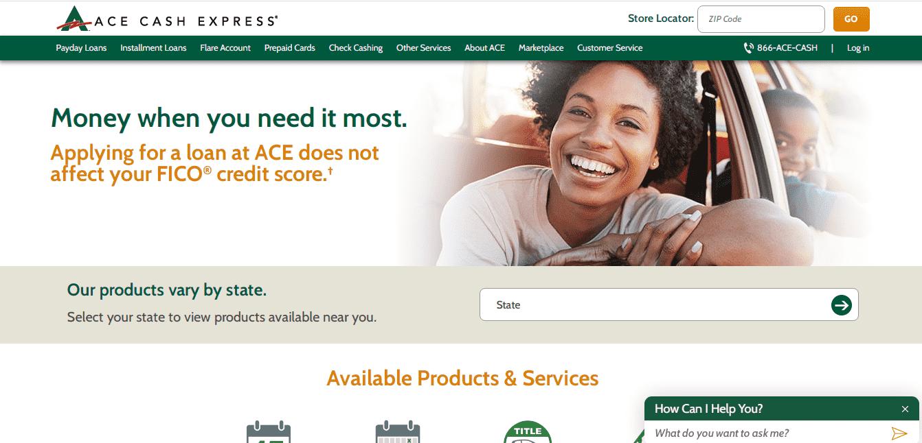 Ace Cash Express reviews and complaints