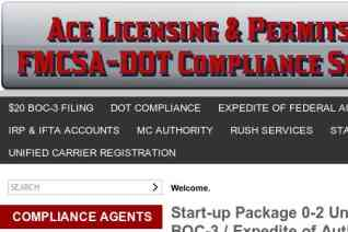 Ace Licensing And Permits reviews and complaints