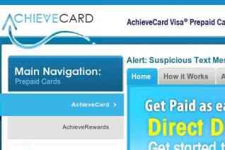 Achievecard reviews and complaints