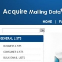 Acquire Mailing Data