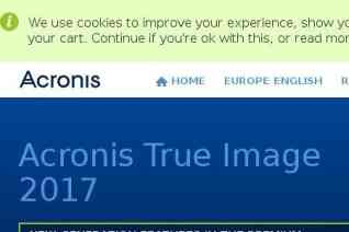 Acronis reviews and complaints