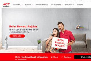 ACT Fibernet reviews and complaints