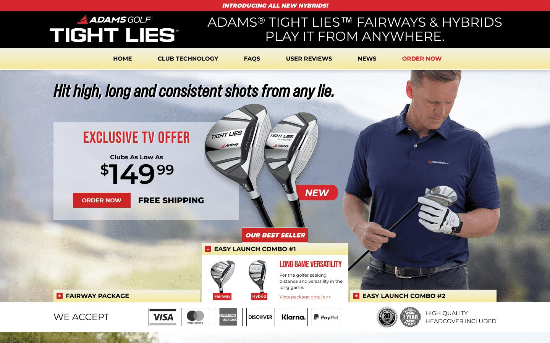 Adams Golf reviews and complaints