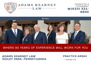 Adams Kearney Law reviews and complaints