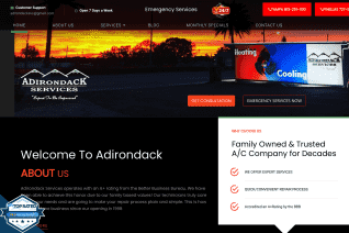 Adirondack Services reviews and complaints