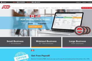 ADP Canada reviews and complaints