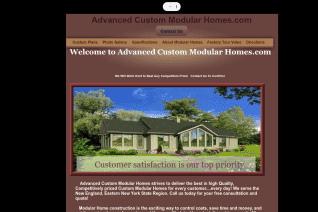 Advanced Custom Modular Homes reviews and complaints