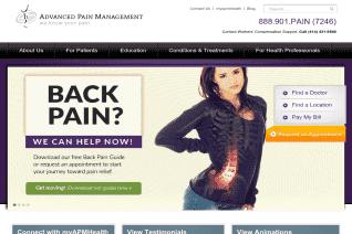Advanced Pain Management reviews and complaints