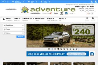 Adventure Chrysler Jeep Dodge reviews and complaints