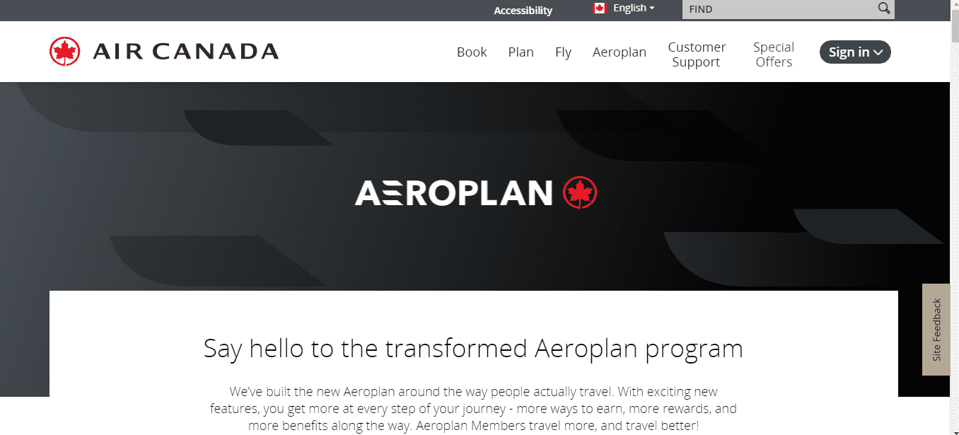 Aeroplan reviews and complaints