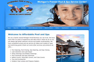 Affordable Pool And Spa Service Of Michigan reviews and complaints