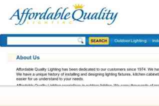 Affordable Quality Lighting reviews and complaints
