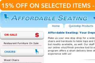 Affordable Seating reviews and complaints