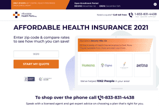 AffordableHealthPlans Org reviews and complaints