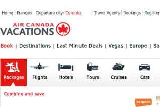 Air Canada Vacations reviews and complaints