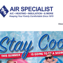 Air Specialist reviews and complaints