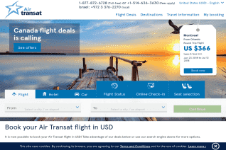 Air Transat reviews and complaints