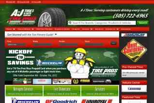 AJ Tires reviews and complaints