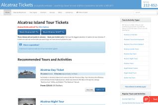 AlcatrazTickets Com reviews and complaints