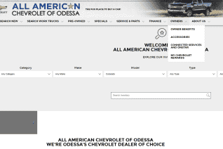 All American Chevrolet of Odessa reviews and complaints