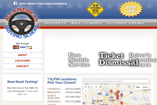 All American Driving School reviews and complaints