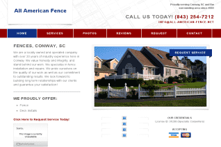 All American Fence of Conway reviews and complaints