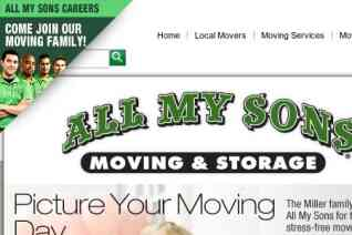 All My Sons Moving And Storage reviews and complaints