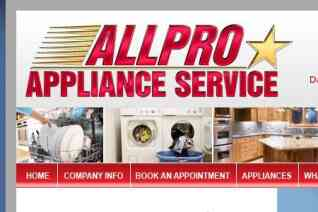 All Pro Appliance Repair Of Utah reviews and complaints