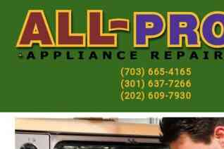 All Pro Appliance Repair reviews and complaints