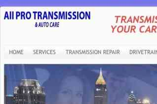 All Pro Transmission And Auto Care reviews and complaints