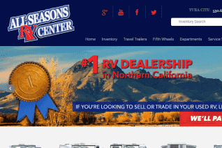 All Season Rv Center reviews and complaints